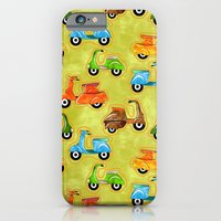iPhone & iPod Case featuring Mod Scooters by virginia odien