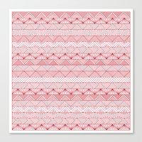 Triangle Trip Canvas Print