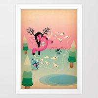 stomacato Art Print