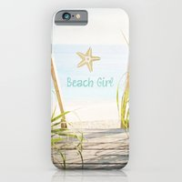 iPhone & iPod Case featuring Beach Girl by Sheana Firth
