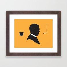 MAD MEN / DON DRAPER Framed Art Print