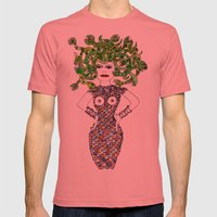 MEDUSA Versus BRIGITTE B… Mens Fitted Tee Pomegranate SMALL