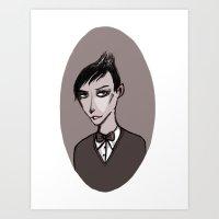 Oswald Cobblepot Art Print