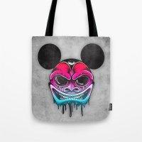 Evil Mickey Tote Bag