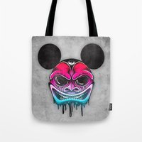 Evil Mickey Tote Bag