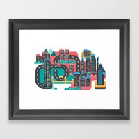New York Framed Art Print