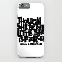 LITTLE FIERCE iPhone 6 Slim Case