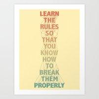 Life Lesson #5 Art Print