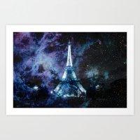 paris Art Prints featuring Paris dreams by 2sweet4words Designs