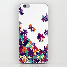 Flowered Up iPhone & iPod Skin