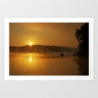 When The Sun Comes Up Art Print