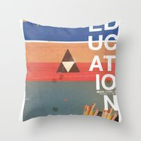 Education - Prepare For … Throw Pillow