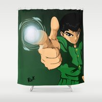 Yusuke Urameshi  Shower Curtain