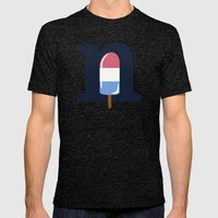 Nice Cream Mens Fitted Tee Tri-Black SMALL