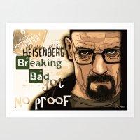 W. H. White Breaking Bad Art Print