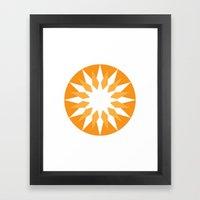 Sharp 1 Framed Art Print