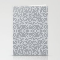 Ab Blocks Grey #3 Stationery Cards
