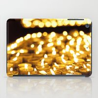 Prayer Candles In Church… iPad Case
