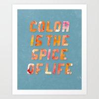 Spice Of Life Art Print