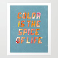 Spice Of Life Art Print