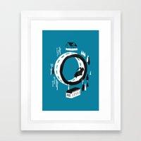 The Suburbs Framed Art Print