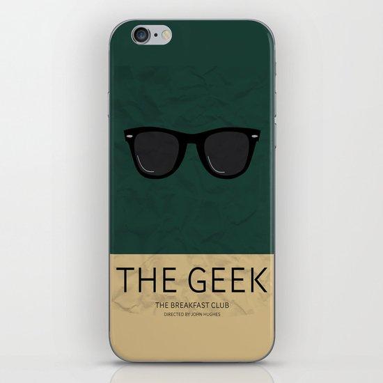 """The Geek"" The Breakfast Club   iPhone & iPod Skin"