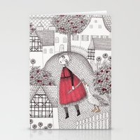 The Old Village Stationery Cards