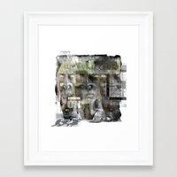 Running On Empty Framed Art Print