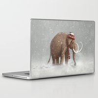 elephant Laptop & iPad Skins featuring The Ice Age Sucked by Terry Fan