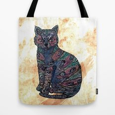 My blue cat.   Tote Bag