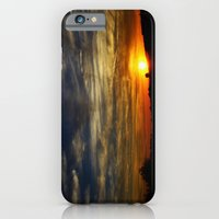 iPhone & iPod Case featuring Colorful sunset by CarP