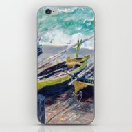 Three Fishing Boats By C… iPhone & iPod Skin