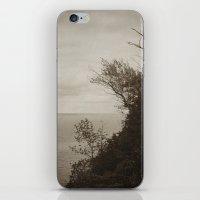 On Edge - Black and White iPhone & iPod Skin
