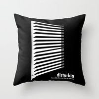 Throw Pillow featuring Disturbia by Emre Cerci
