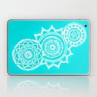 The blue mandalas Laptop & iPad Skin