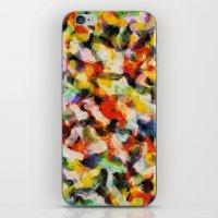 Starry Halftone iPhone & iPod Skin