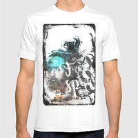 Free Spirit Mens Fitted Tee White SMALL