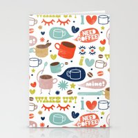 Caffeine Addict Stationery Cards