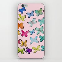 For A Friend: Butterflie… iPhone & iPod Skin