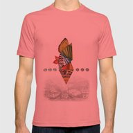 The Lost City Mens Fitted Tee Pomegranate SMALL