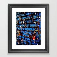 Unlock Me Framed Art Print