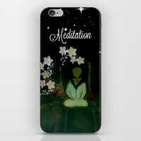 Meditaition by Sherriofpalmsprings iPhone & iPod Skin