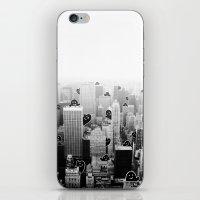 Ghost City iPhone & iPod Skin