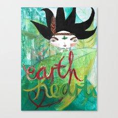 Eart(H)eart Canvas Print