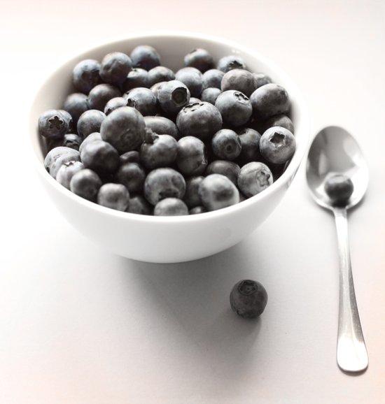 Blueberry Light Kitchen Photographic Art  Art Print