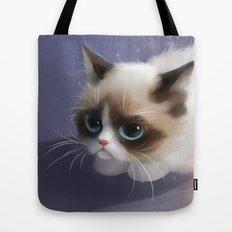little grumpy things Tote Bag