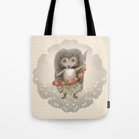 Tote Bag featuring Presents from Forest by Ruta13