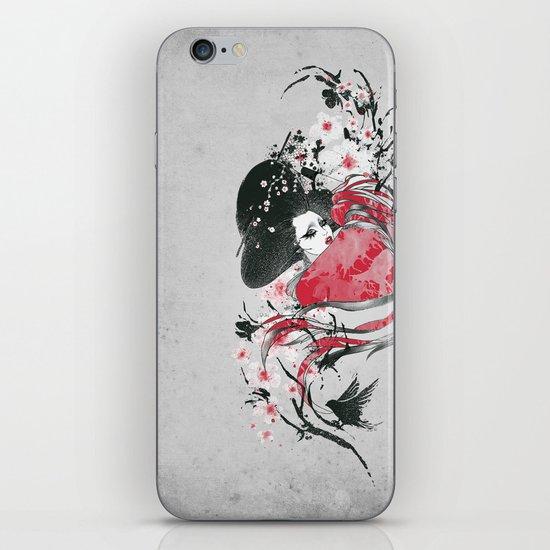 The Geisha iPhone & iPod Skin
