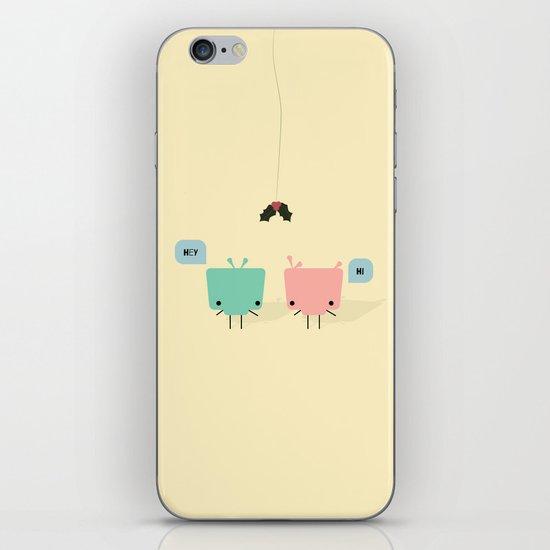She & He iPhone & iPod Skin