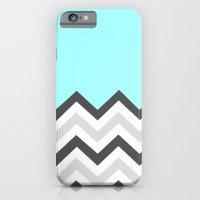 Color Blocked Chevron 16 iPhone 6 Slim Case